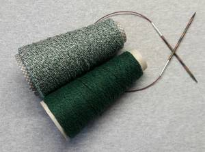 Scialle di Eco Cashmere con Maglie Allungate