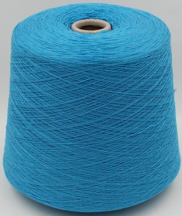 How to work machine yarn by hand
