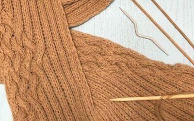 Originale Sciarpa in EcoCashmere